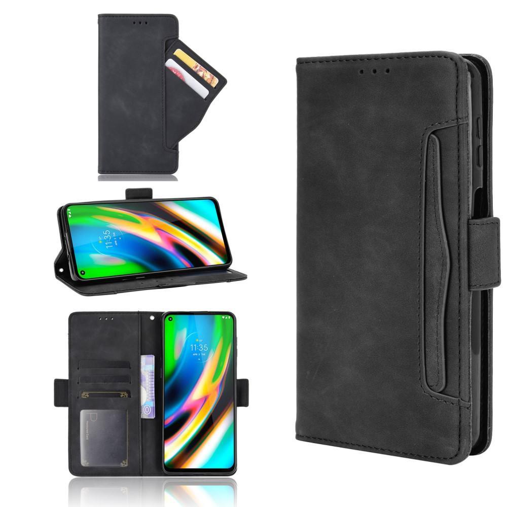 Multi Plånboksfodral Motorola Moto G9 Plus svart