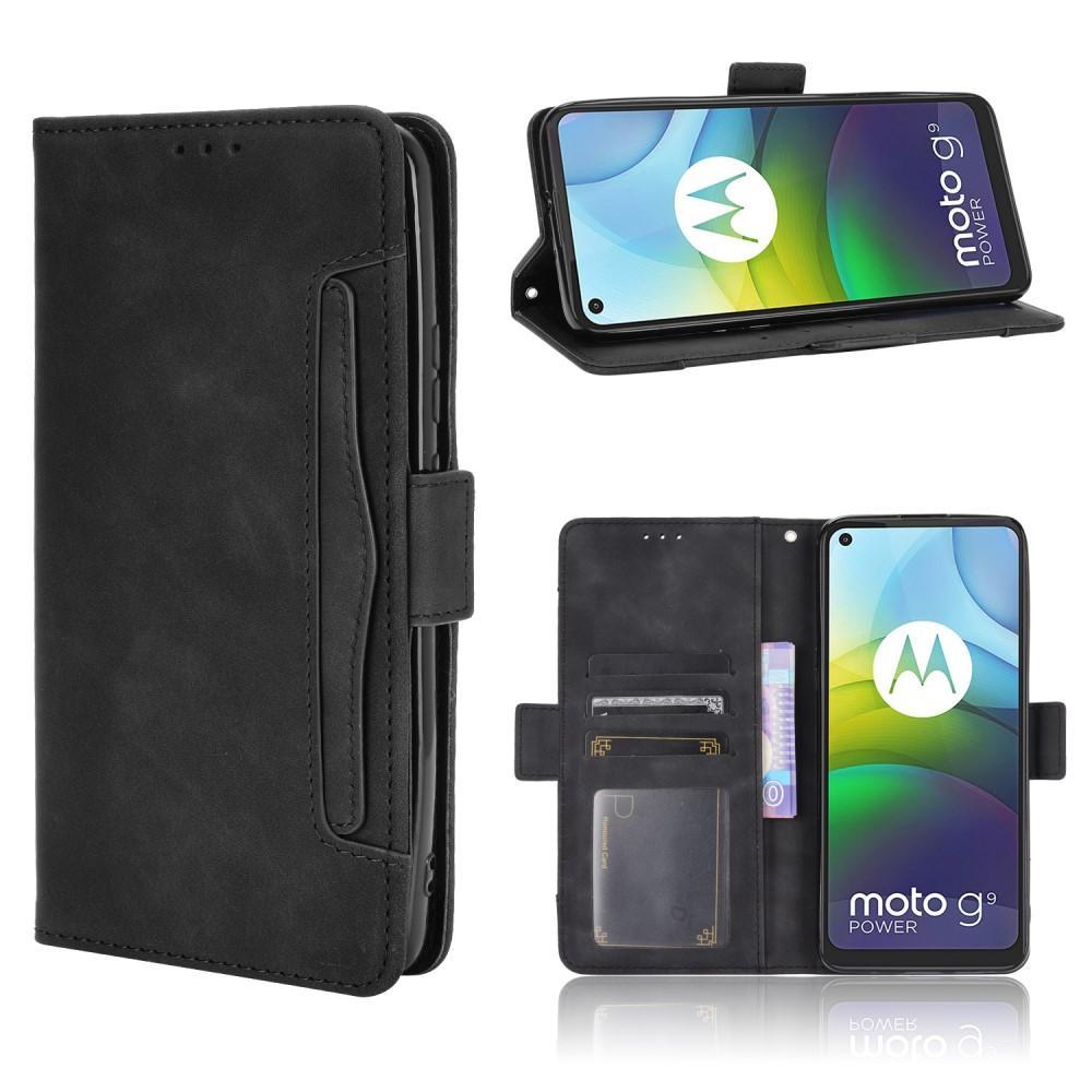 Multi Plånboksfodral Motorola Moto G9 Power svart