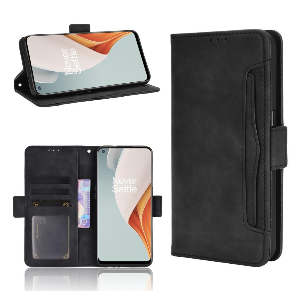 Multi Plånboksfodral OnePlus Nord N100 svart
