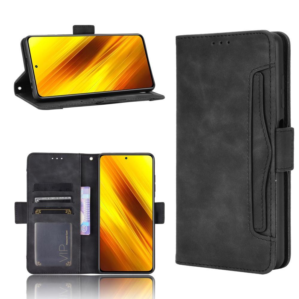 Multi Plånboksfodral Poco X3 NFC svart