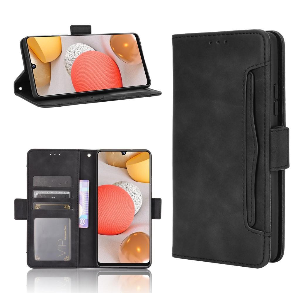 Multi Plånboksfodral Samsung Galaxy A42 5G svart