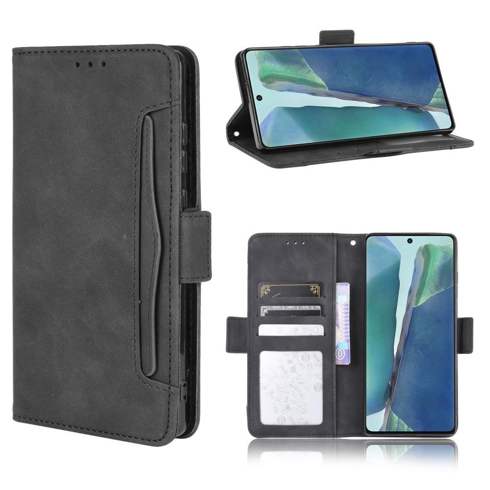 Multi Plånboksfodral Samsung Galaxy S20 FE svart