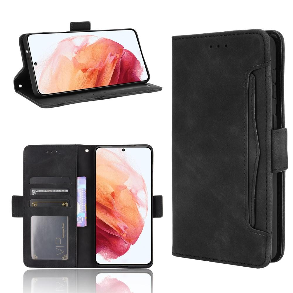 Multi Plånboksfodral Samsung Galaxy S21 svart