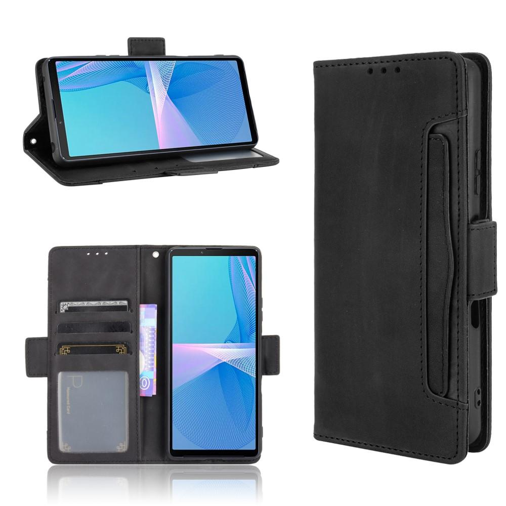 Multi Plånboksfodral Sony Xperia 10 III svart