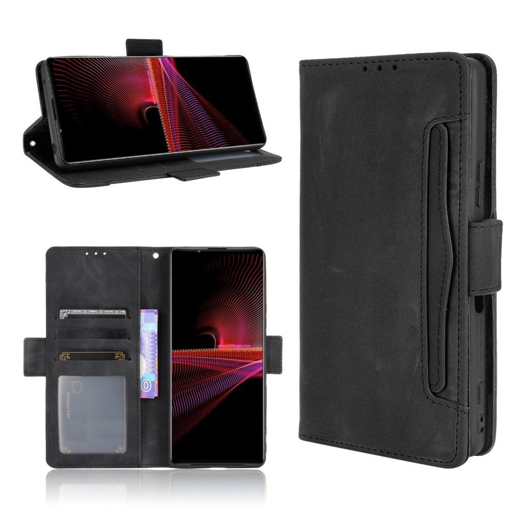 Multi Plånboksfodral Sony Xperia 1 III svart