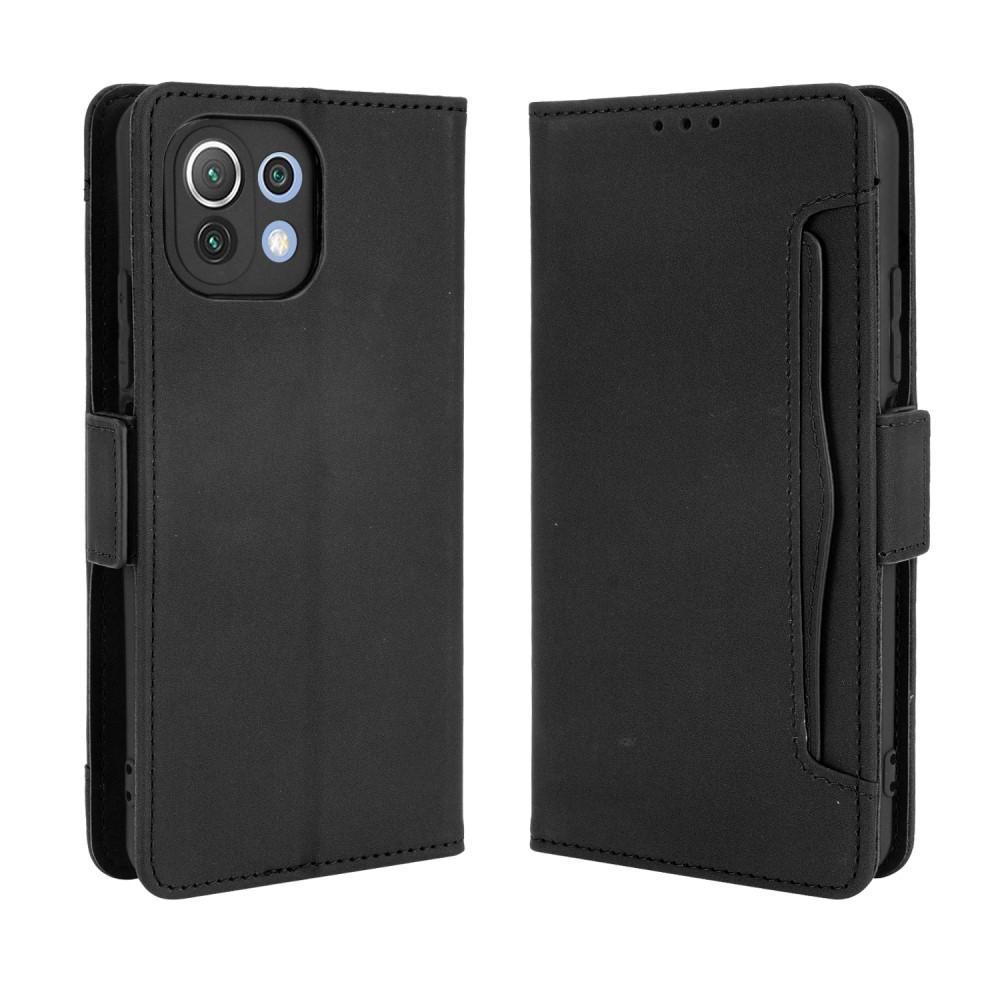 Multi Plånboksfodral Xiaomi Mi 11 Lite 5G svart