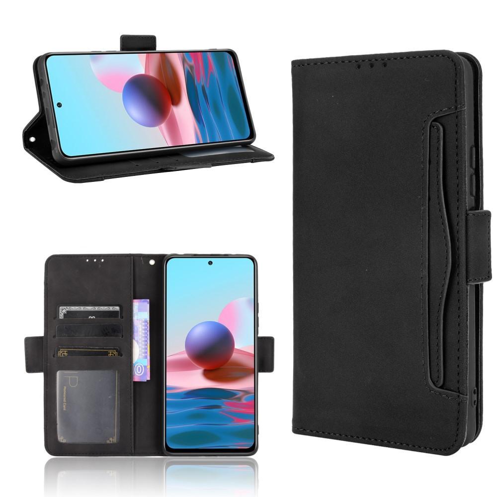 Multi Plånboksfodral Xiaomi Redmi Note 10 Pro svart