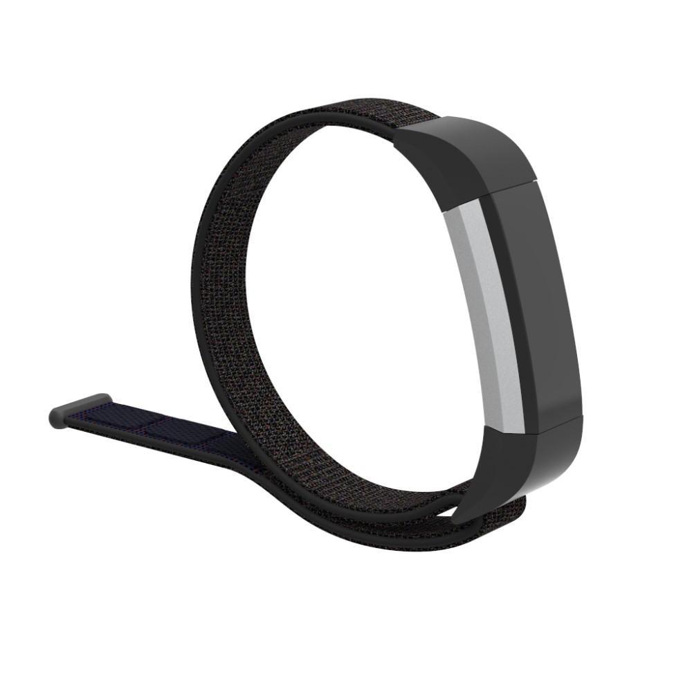 Nylonarmband Fitbit Alta/Alta HR svart