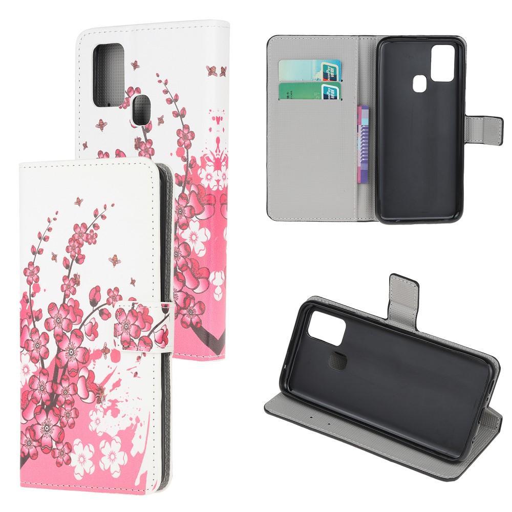Plånboksfodral OnePlus Nord N100 körsbärsblom