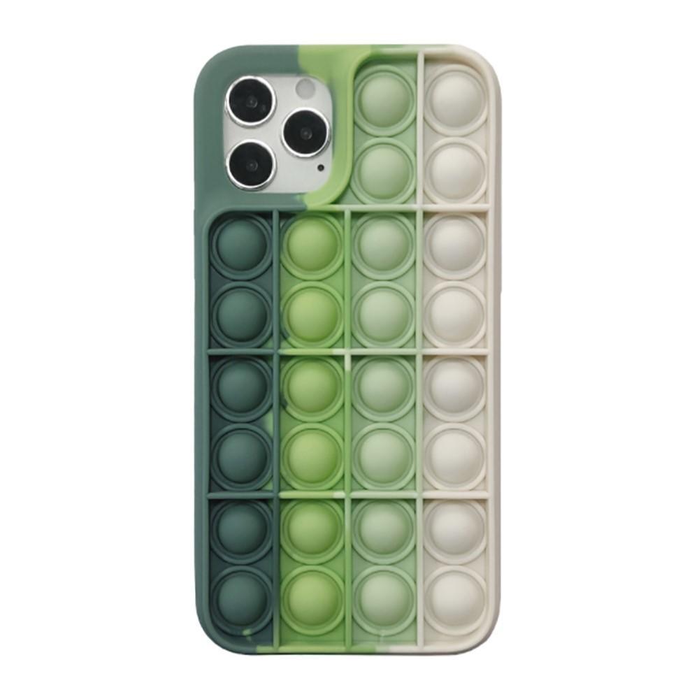 Pop It Skal iPhone 12 Mini grön