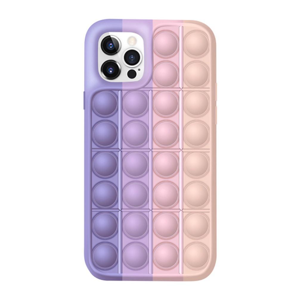 Pop It Skal iPhone 12 Mini rosa-lila