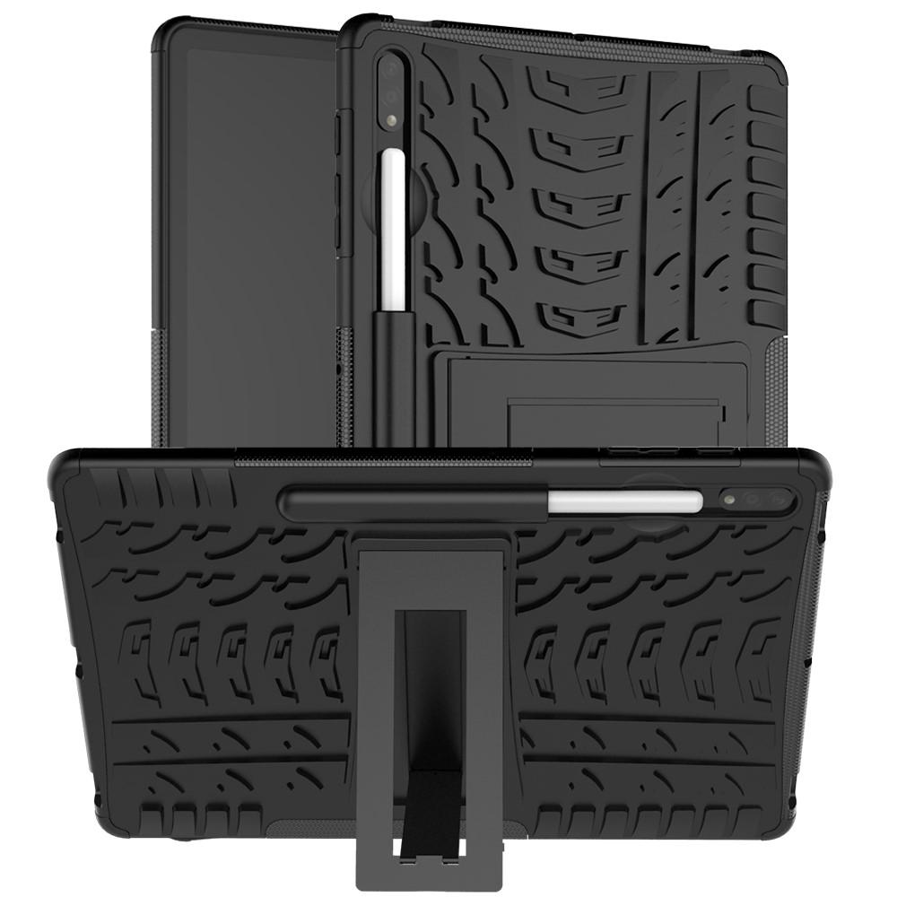 Rugged Case Samsung Galaxy Tab S7 Plus 12.4 svart