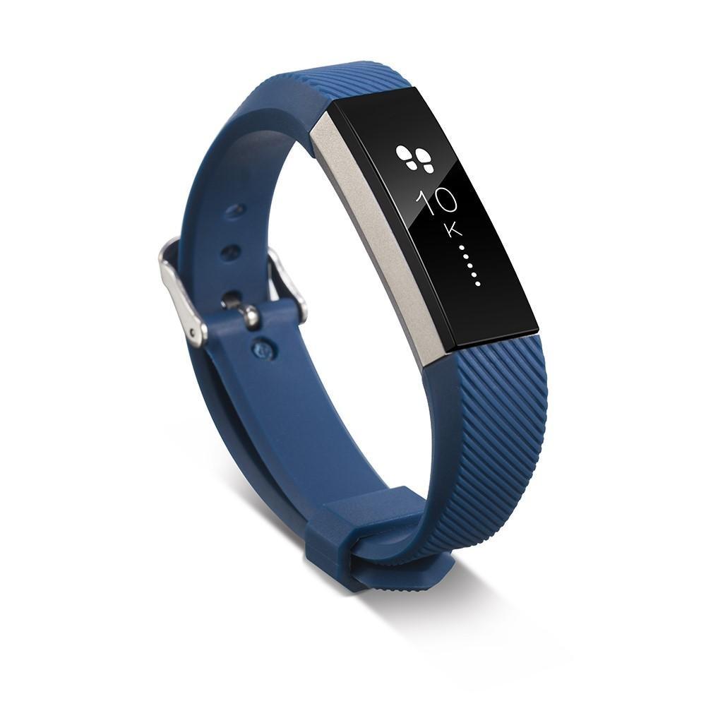 Silikonarmband Fitbit Alta/Alta HR blå