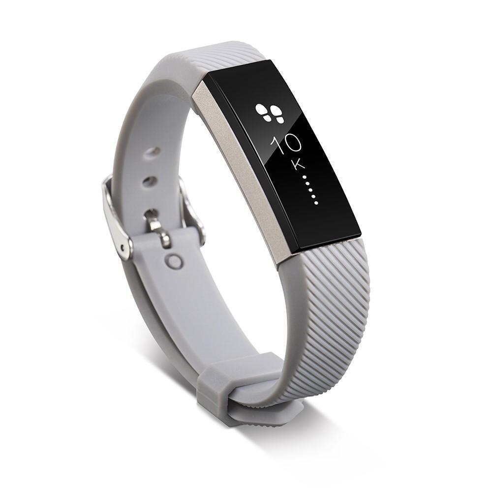 Silikonarmband Fitbit Alta/Alta HR grå