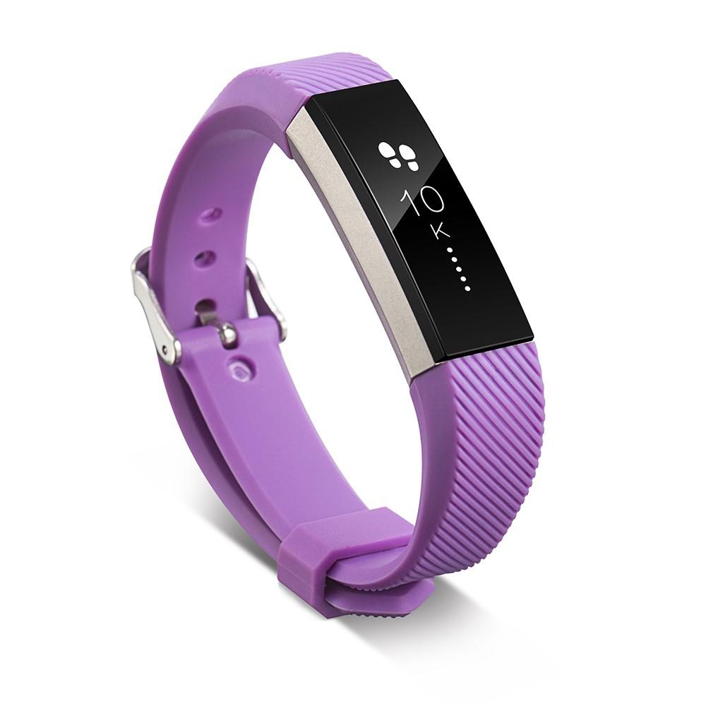 Silikonarmband Fitbit Alta/Alta HR lila