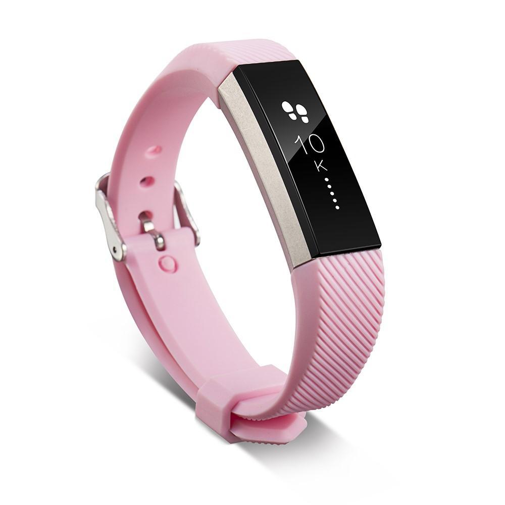 Silikonarmband Fitbit Alta/Alta HR rosa