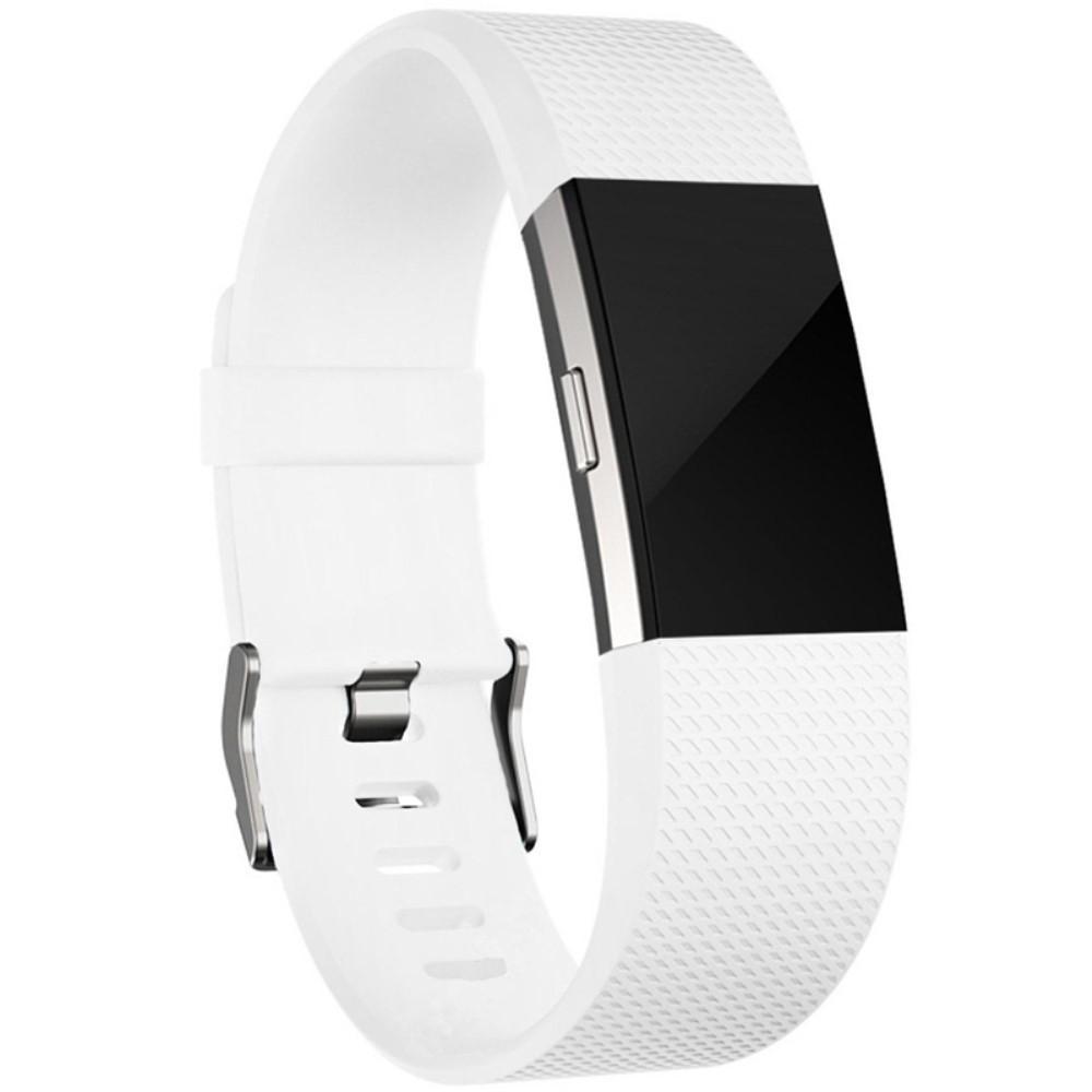 Silikonarmband Fitbit Charge 2 vit