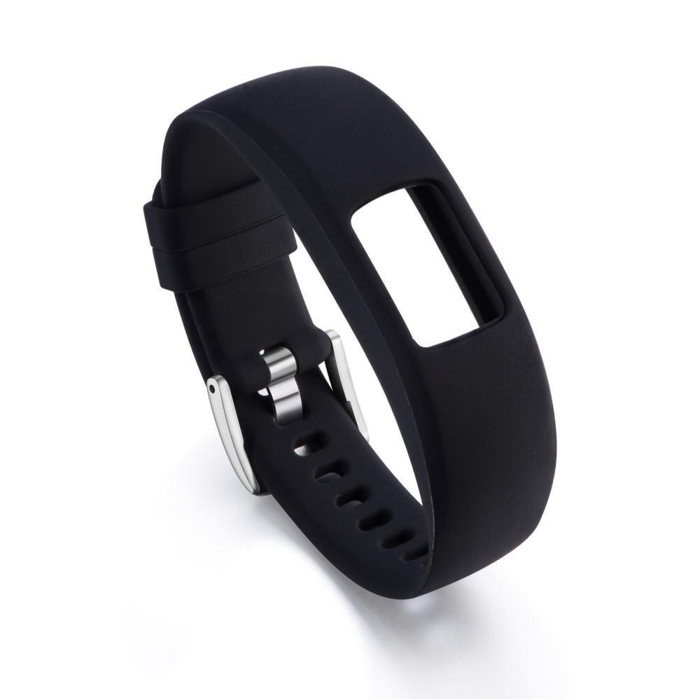 Silikonarmband Garmin Vivofit 4 svart
