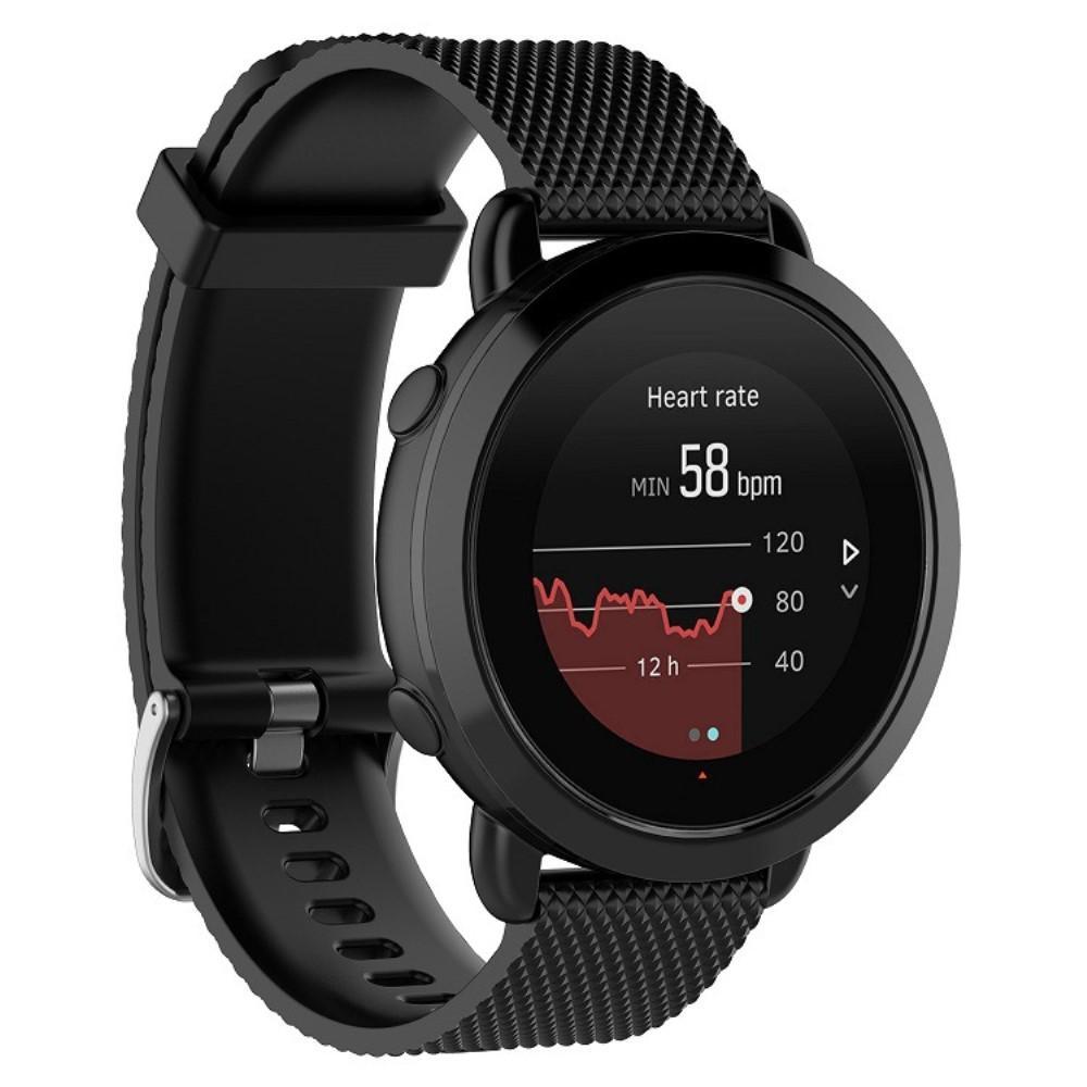 Silikonarmband Suunto 3 Fitness svart