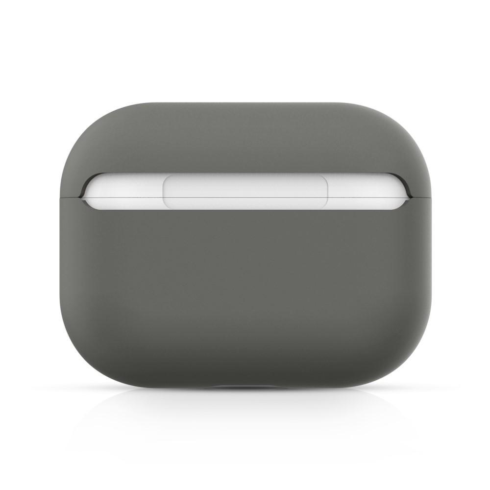 Silikonskal Apple AirPods Pro grå