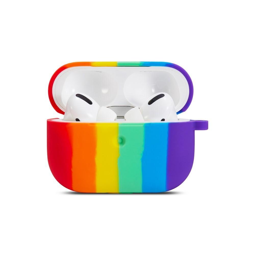Silikonskal Apple AirPods Pro rainbow