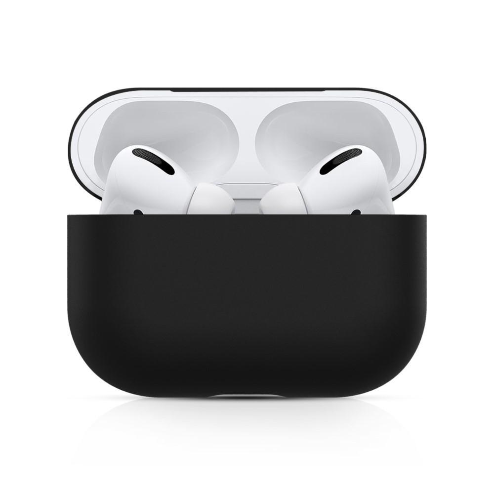 Silikonskal Apple AirPods Pro svart
