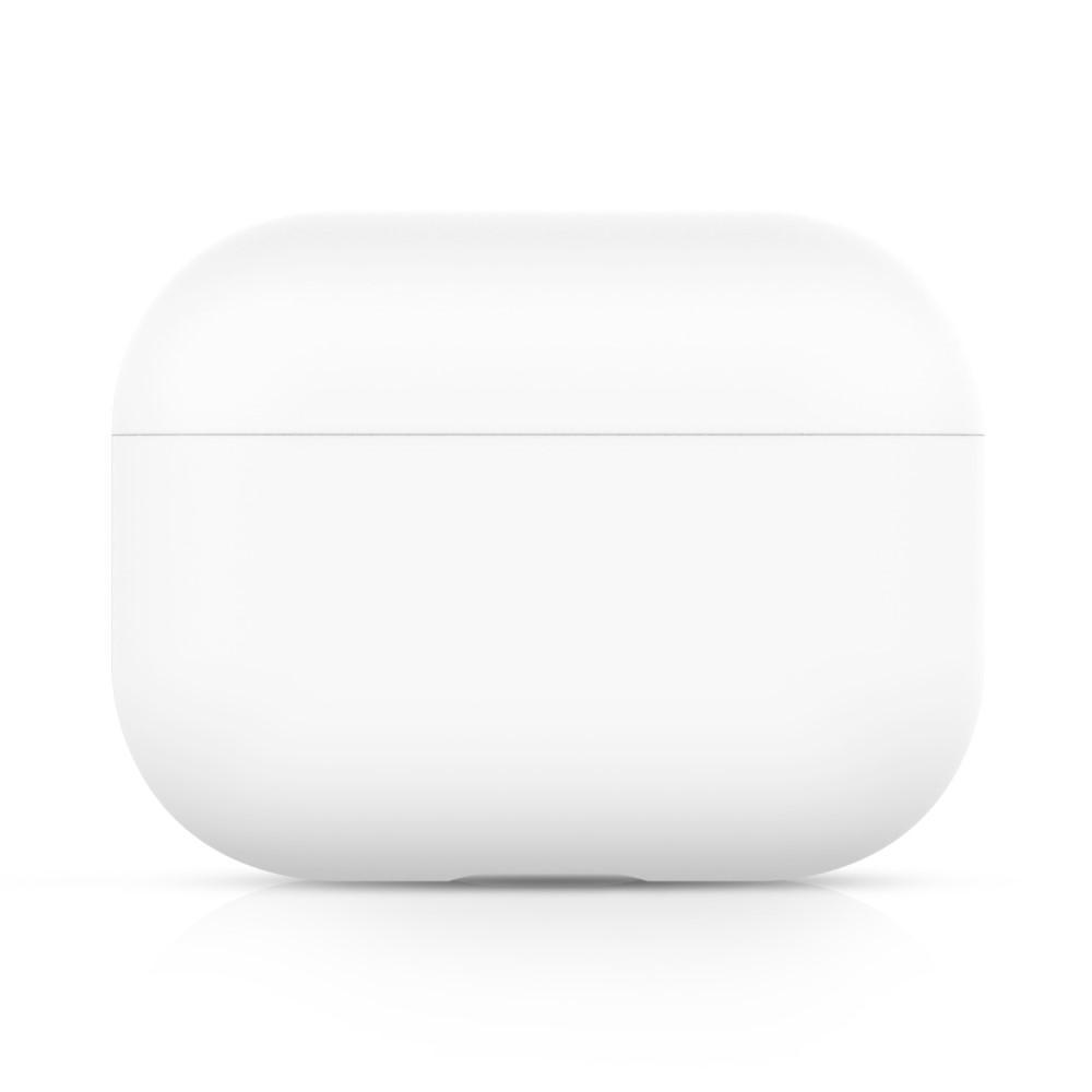 Silikonskal Apple AirPods Pro vit