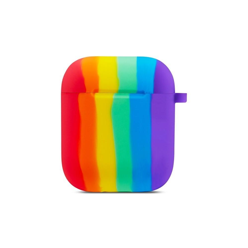Silikonskal Apple AirPods rainbow