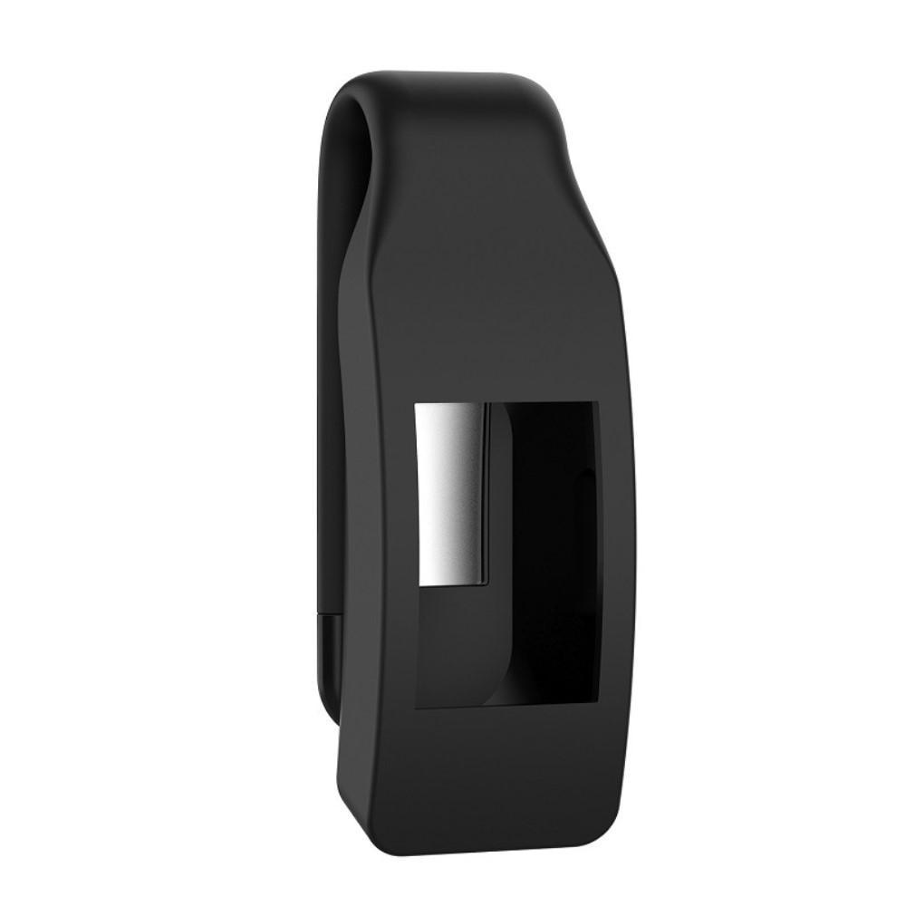 Silikonklämma/Clip Fitbit Inspire/Inspire HR Svart