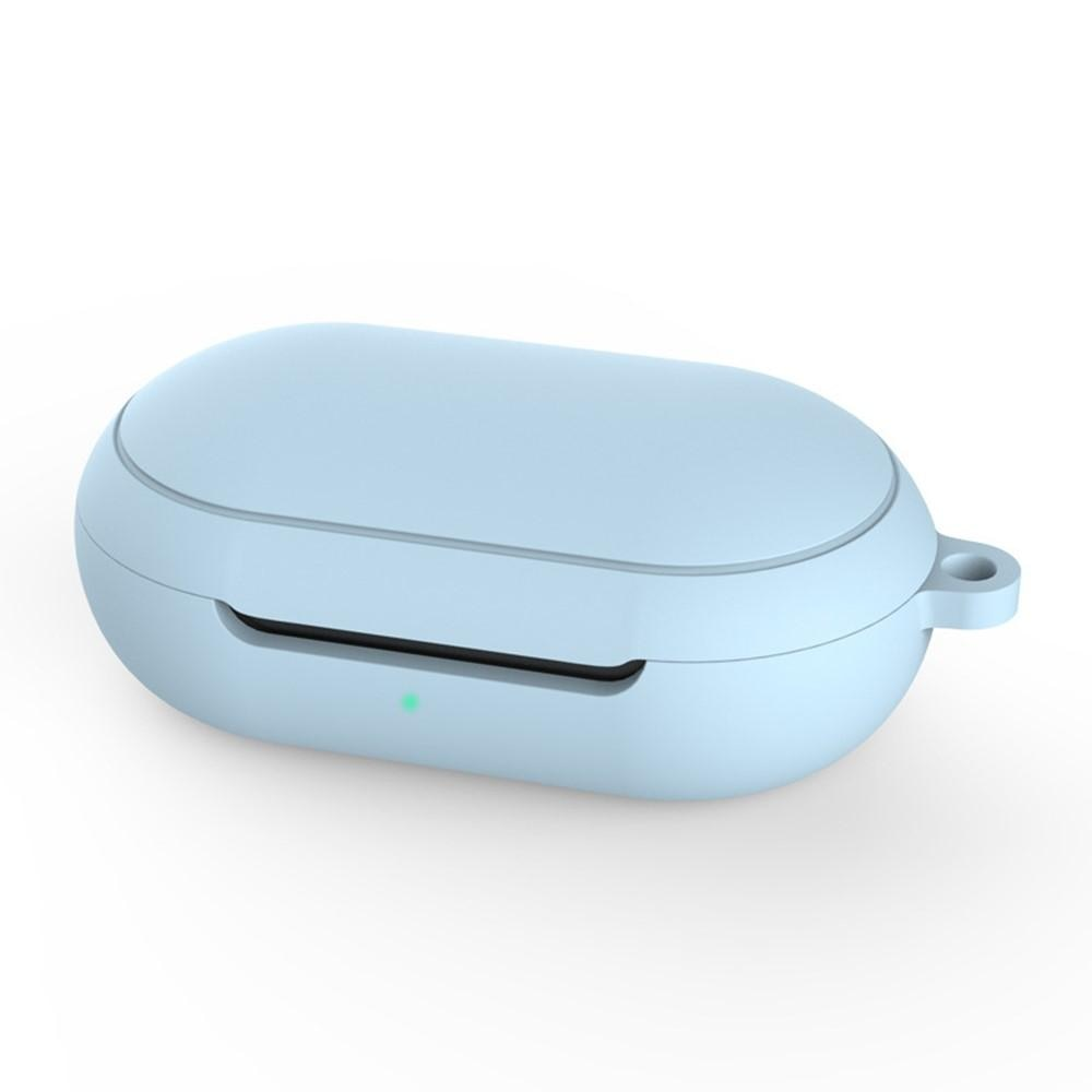 Silikonskal med karbinhake Galaxy Buds/Buds Plus blå
