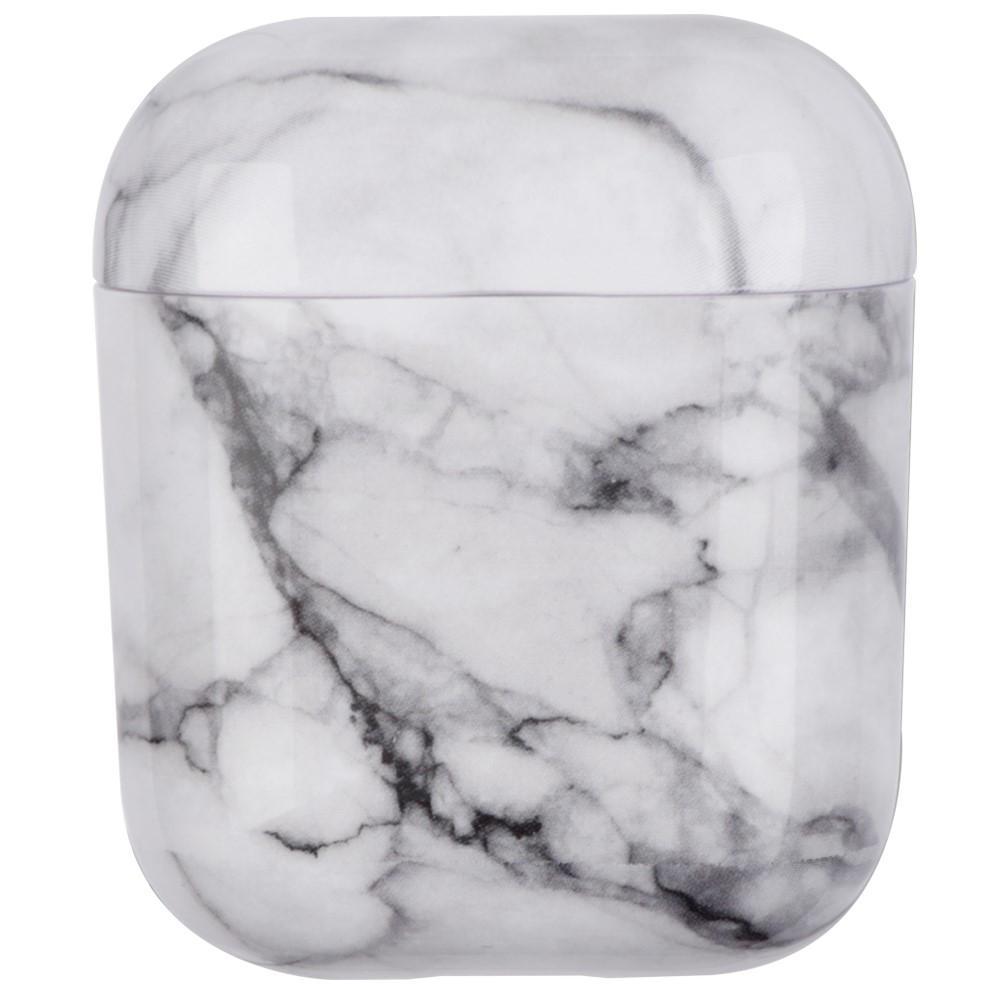 Skal Apple AirPods vit marmor