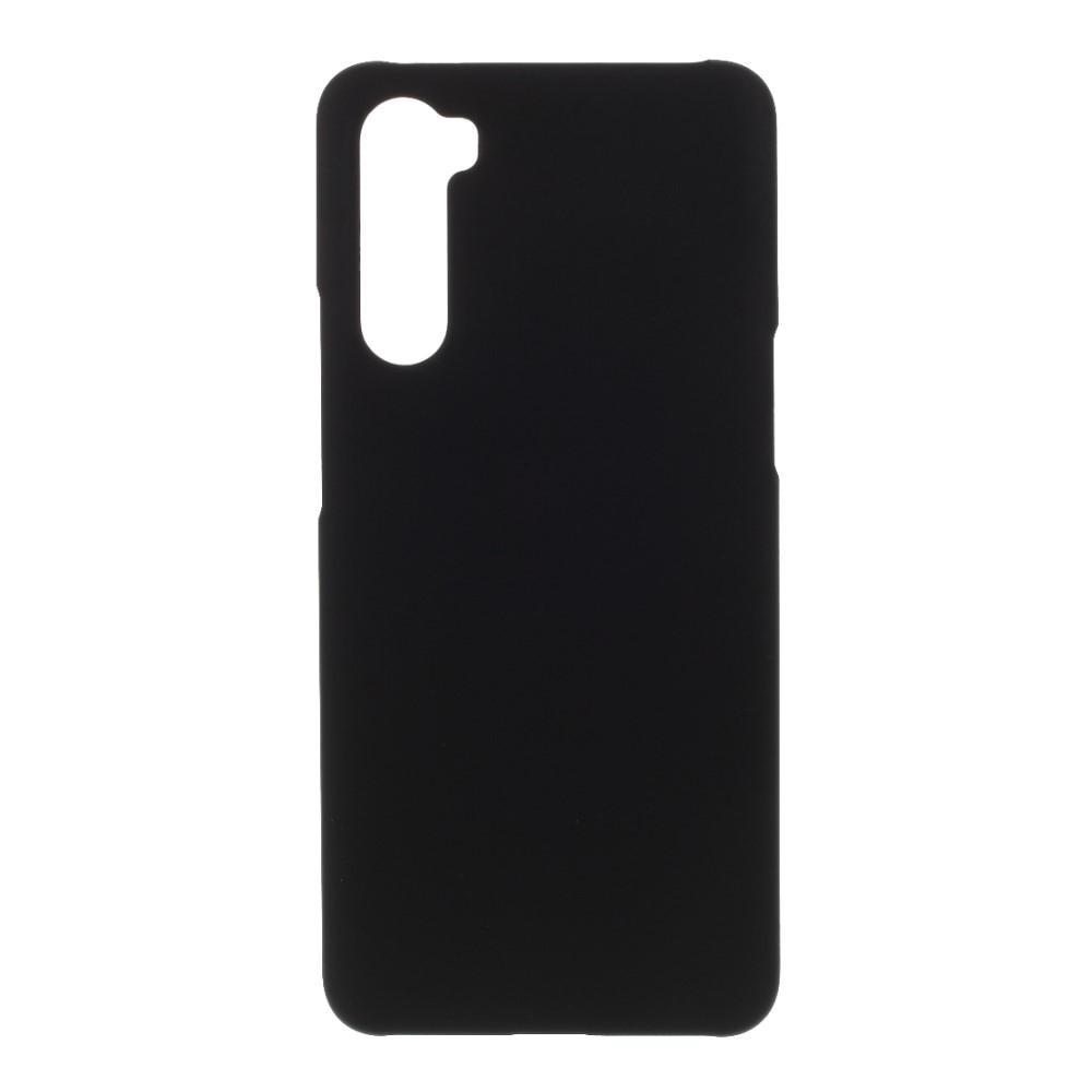 Skal Gummerat OnePlus Nord svart