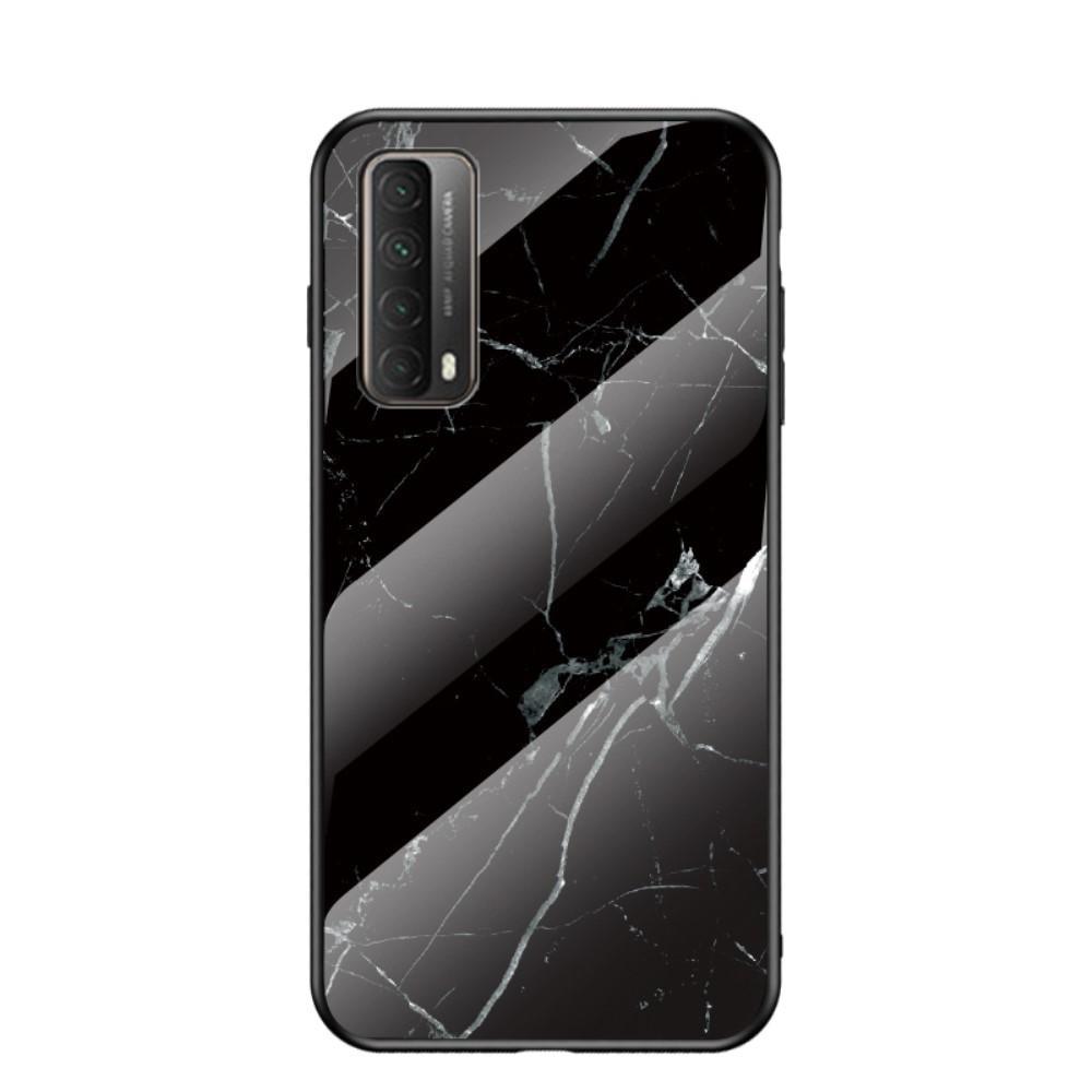 Skal Härdat Glas Huawei P Smart 2021 svart marmor