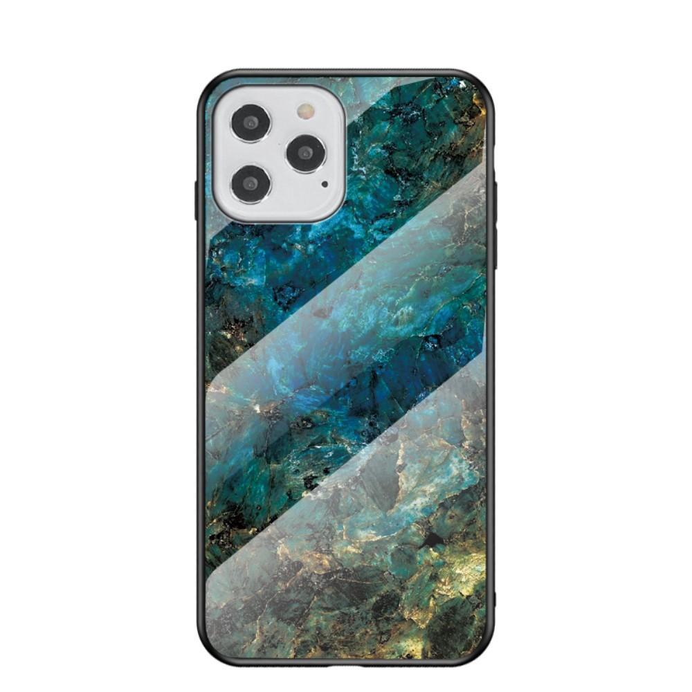Skal Härdat Glas iPhone 12/12 Pro emerald