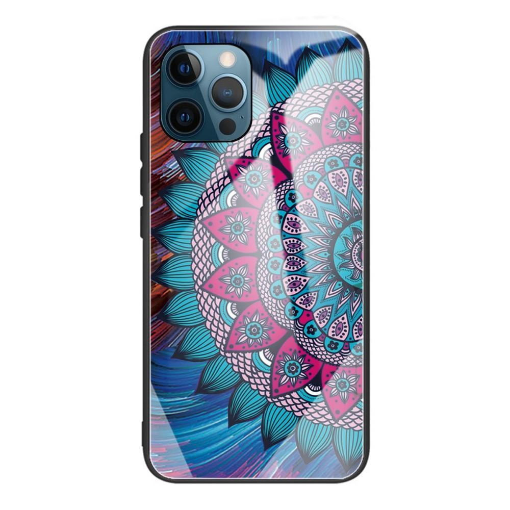 Skal Härdat Glas iPhone 12/12 Pro mandala