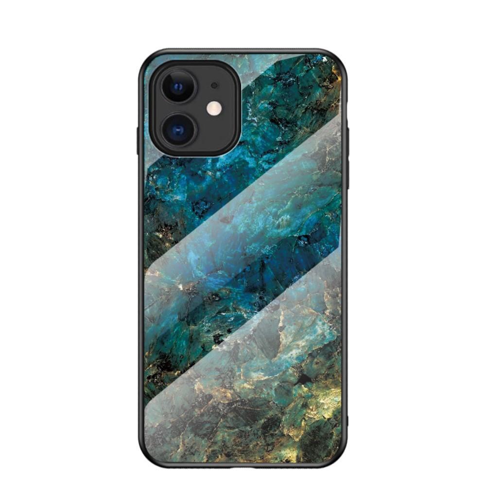 Skal Härdat Glas iPhone 12 Mini emerald