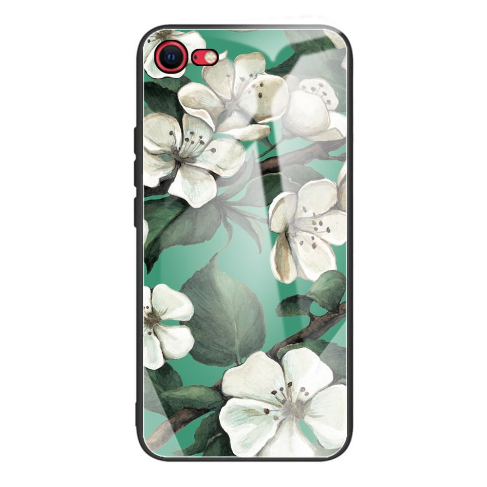 Skal Härdat Glas iPhone 7/8/SE 2020 blommor