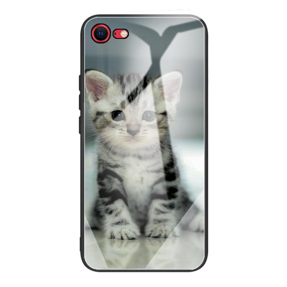 Skal Härdat Glas iPhone 7/8/SE 2020 kattunge