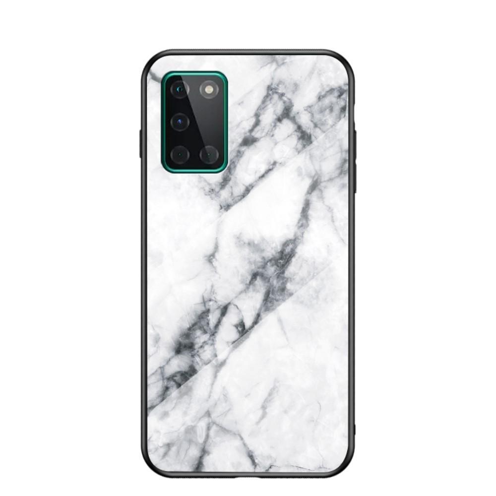 Skal Härdat Glas OnePlus 8T vit marmor