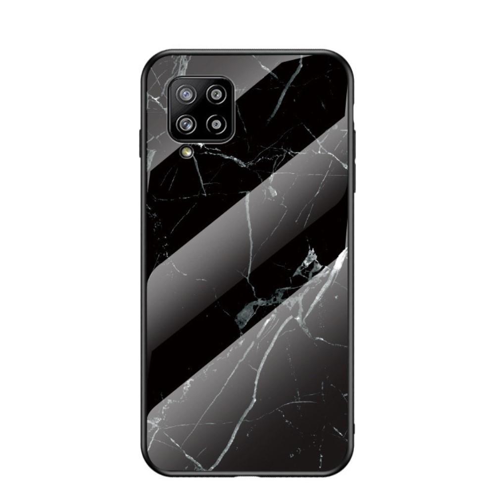 Skal Härdat Glas Samsung Galaxy A42 5G svart marmor