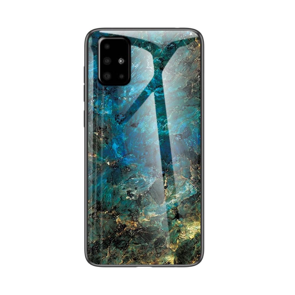 Skal Härdat Glas Samsung Galaxy A51 emerald