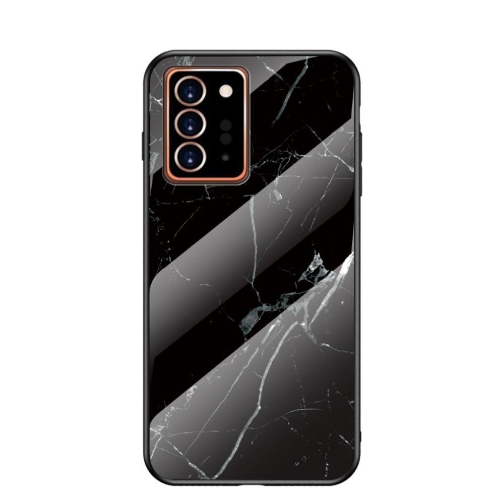 Skal Härdat Glas Samsung Galaxy Note 20 Ultra svart marmor