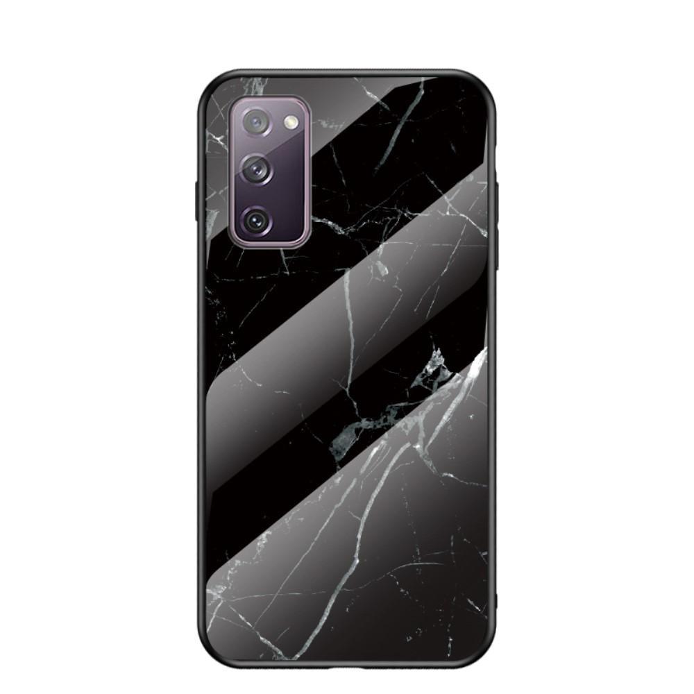 Skal Härdat Glas Samsung Galaxy S20 FE svart marmor