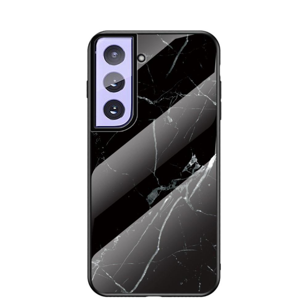 Skal Härdat Glas Samsung Galaxy S21 Plus svart marmor