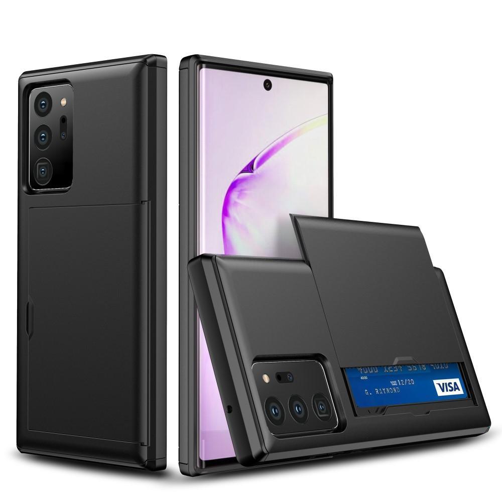 Skal Kortfack Samsung Galaxy Note 20 Ultra svart
