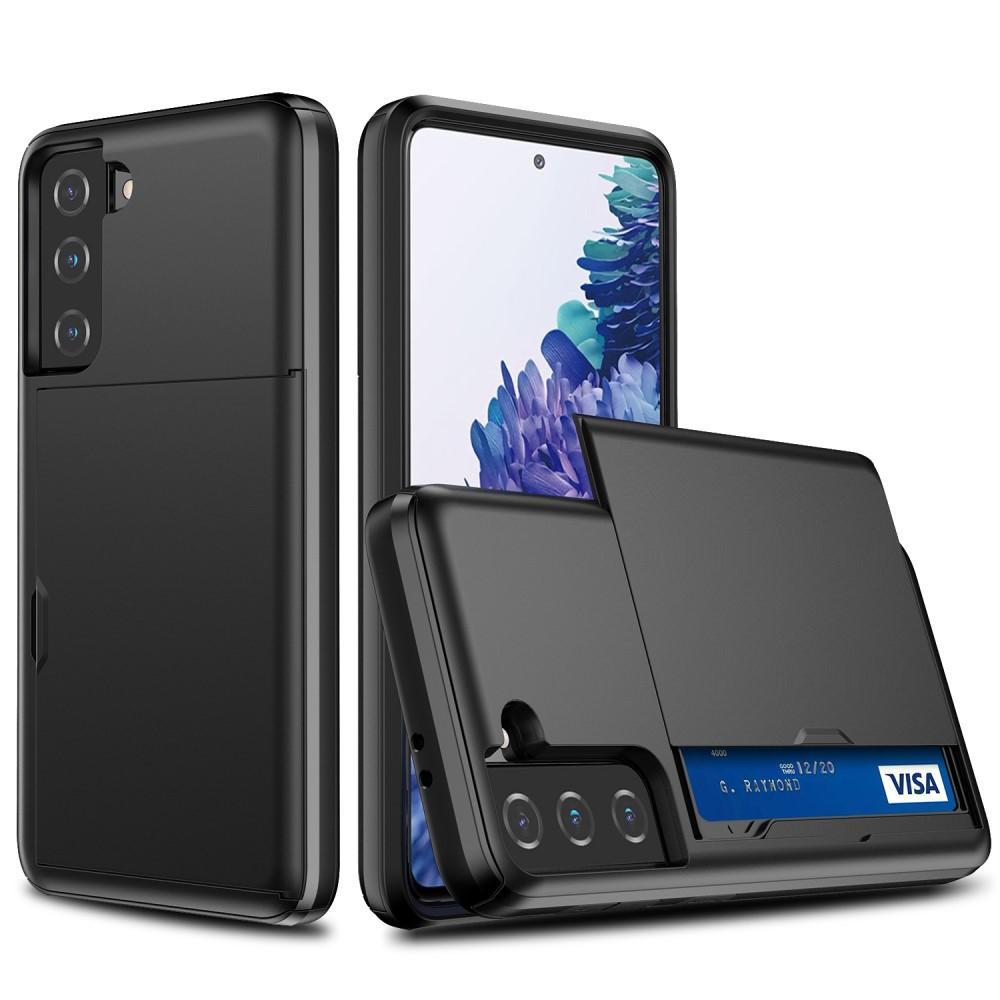 Skal Kortfack Samsung Galaxy S21 Plus svart