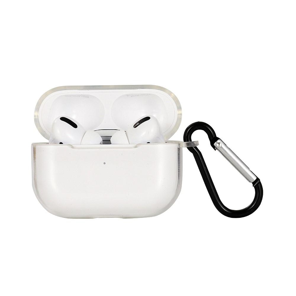 Skal med karbinhake Apple AirPods Pro transparent