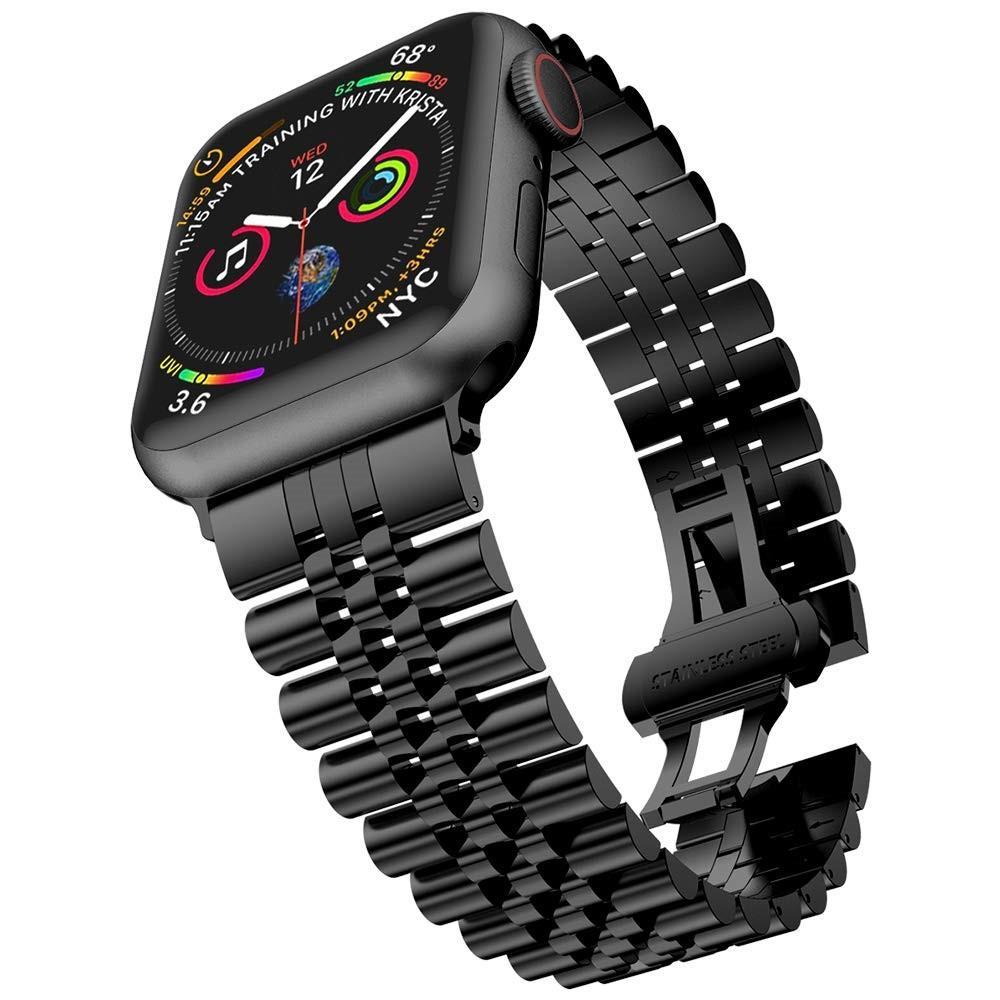 Stainless Steel Bracelet Apple Watch 42/44 mm Black