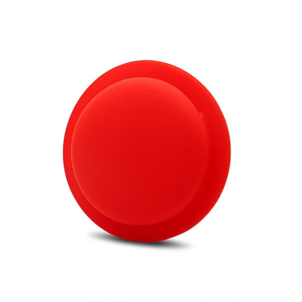 Stick on Apple AirTag skal röd