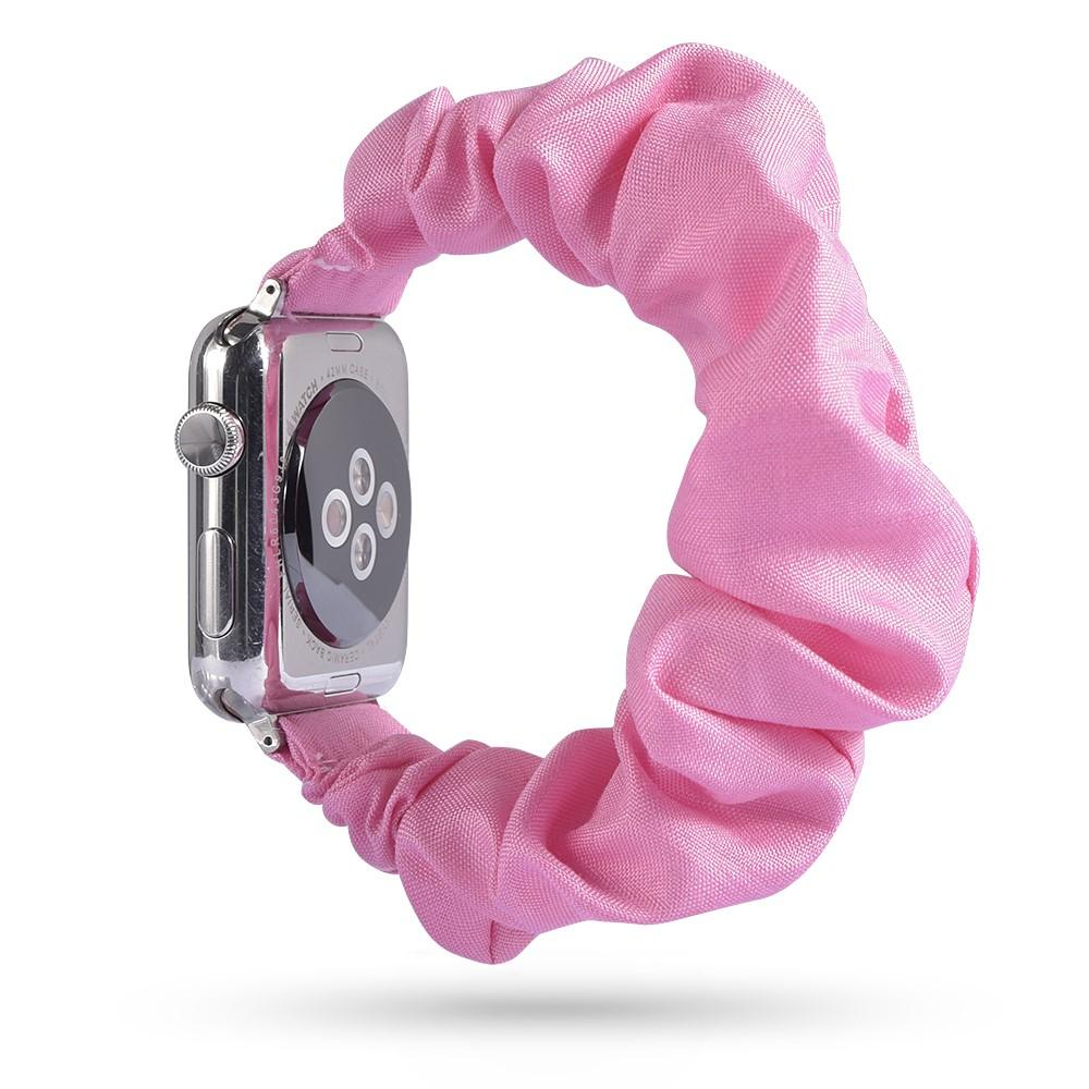 Scrunchie Armband Apple Watch 38/40/41 mm rosa
